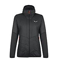 Salewa W Sternai Tirol Wool® JKT - giacca ibrida - donna, Black