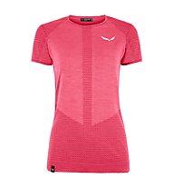Salewa W Zebru Responsive S/S - Funktions-T-Shirt - Damen, Pink