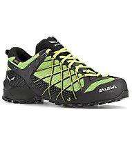Salewa Wildfire GTX - scarpe da avvicinamento - uomo, Black/Fluo