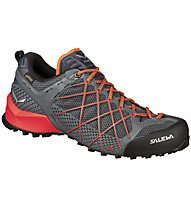 Salewa Wildfire GTX - scarpe da avvicinamento - uomo, Dark Grey/Orange