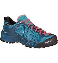 Salewa Wildfire GTX - scarpe da avvicinamento - donna, Light Blue
