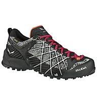 Salewa Wildfire GTX - scarpe da avvicinamento - donna, Black
