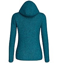 Salewa Woolen 2L - Strickjacke mit Kapuze - Damen, Light Blue