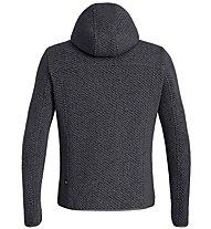 Salewa Woolen 2L - giacca con cappuccio - uomo, Dark Blue