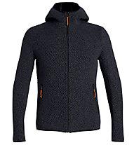 Salewa Woolen 2L - Strickjacke mit Kapuze - Herren, Dark Blue/Orange