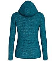 Salewa Woolen 2L - giacca trekking con cappuccio - donna, Light Blue