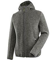 Salewa Woolen M - giacca con cappuccio trekking - uomo, Dark Grey