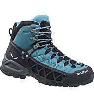 Salewa WS Alp Flow GORE-TEX, Venom/Bright Acqua