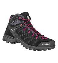 Salewa Ws Alp Mate Mid WP - Trekkingschuh - Damen, Black/Pink