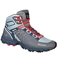 Salewa Alpenrose Ultra Mid GTX - scarpe da trekking - donna, Grey/Light Blue