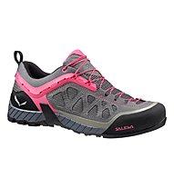 Salewa WS Firetail 3 - scarpa avvicinamento donna, Pewter/Pinky