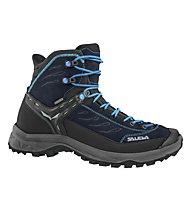 Salewa Hike Trainer Mid GORE-TEX - Wander- und Trekkingschuh - Damen, Black/Light Blue