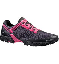 Salewa Lite Train - scarpe trail running - donna, Black/Pink