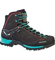 Salewa Mtn Trainer Mid GTX - scarpe da trekking - donna, Black