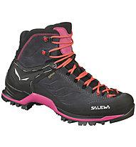 Salewa Mtn Trainer Mid GTX - scarpe da trekking - donna, Black/Pink