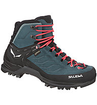 Salewa Mtn Trainer Mid GTX - Trekkingschuh - Damen, Blue/Red