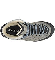 Salewa Mtn Trainer Mid L - Wanderschuh - Damen, Grey/Blue
