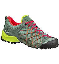 Salewa Wildfire - scarpe da avvicinamento - donna, Green/Red