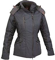 Salewa Zanser Powertex - giacca con cappuccio - donna, Ebano