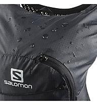 Salomon Active Skin 8 Set - zaino trailrunning, Black