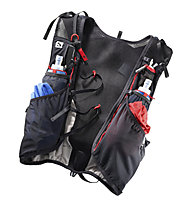 Salomon ADV Skin 12 Set - zaino trail running 12 L, Black/Grey