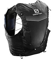 Salomon ADV Skin 12 Set - zaino trail running 12 L, Black