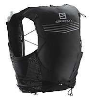 Salomon ADV Skin 12 Set - Trailrunningrucksack 12 Liter, Black