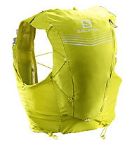 Salomon ADV Skin 12 Set - zaino trail running 12 L, Yellow
