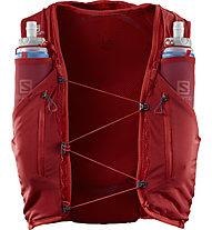Salomon ADV Skin 12 Set - Trailrunningrucksack 12 Liter, Red