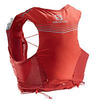 Salomon ADV Skin 5 Set - zaino trail running, Red