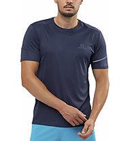 Salomon Agile - Trailrunningshirt - Herren, Blue