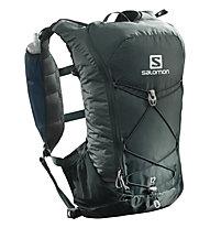 Salomon Agile 12 Set - Trailrunning-Rucksack 12 L, Dark Green