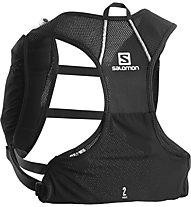 Salomon Agile 2 Set - zaino trail running, Black
