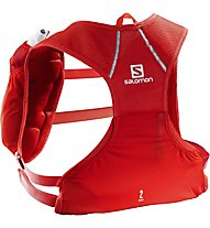 Salomon Agile 2 Set - Trailrunning-Rucksack 2.2 L, Red