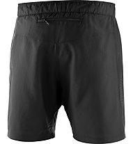 Salomon Agile 2in1 Short - pantaloncini running - uomo, Black