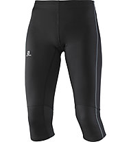 Salomon Agile pantaloni 3/4 running donna, Black