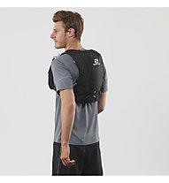 Salomon Agile 6 Set - Trailrunning-Rucksack 7 L, Black