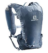 Salomon Agile 6 Set - Trailrunning-Rucksack 7 L, Blue