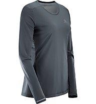 Salomon Agile LS Tee - Langarmshirt - Trailrunning, Grey