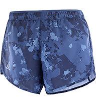 Salomon Agile - Trailrunninghose Kurz - Damen, Blue