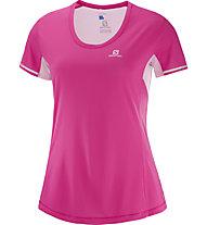 Salomon Agile - maglia trail running - donna, Pink