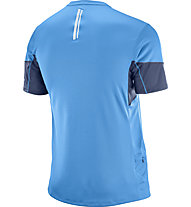 Salomon Agile - Trailrunning Shirt - Herren, Blue