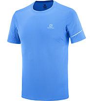 Salomon Agile SS Tee M - Laufshirt - Herren, Blue