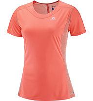Salomon Agile - Trailrunning Shirt - Damen, Orange