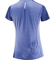 Salomon Agile - Trailrunning Shirt - Damen, Blue