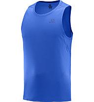Salomon Agile Tank M - Runningtop - Herren, Blue