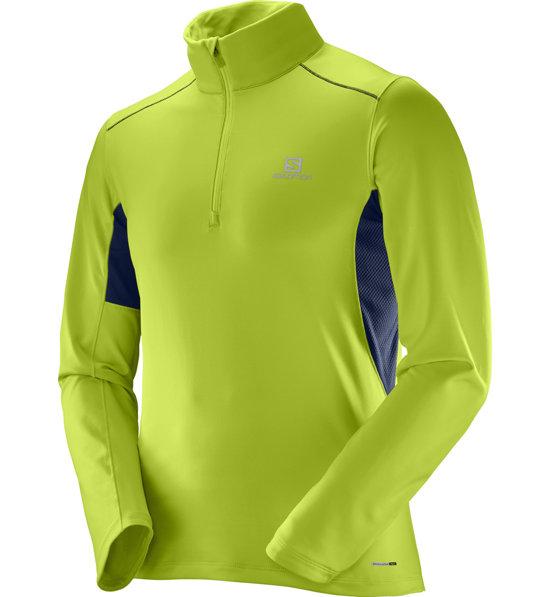 b3322e8f4012 Salomon Agile Warm HZ Mid M - maglia running - uomo | Sportler.com