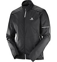 Salomon Agile Wind - giacca a vento - uomo, Black