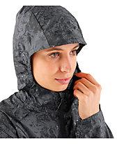 Salomon Agile Wind Print - giacca trail running - donna, Dark Grey