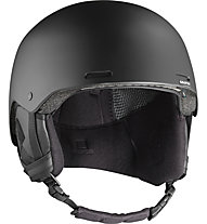 Salomon Brigade+ - Skihelm, Black